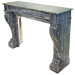 19th Century French Neoclassical /Empire Style Mantel