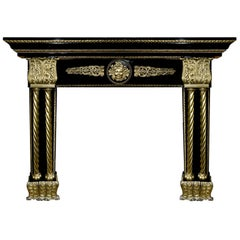 19th Century French Neoclassical Fireplace