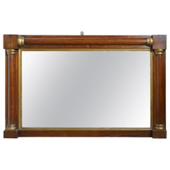 Silver Mantel Mirrors and Fireplace Mirrors