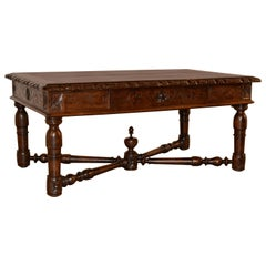 19th Century French Oak Coffee Table