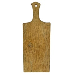 19th Century French Oak Cutting Board