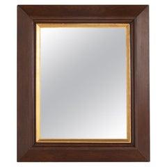 19th Century French Oak Mirror