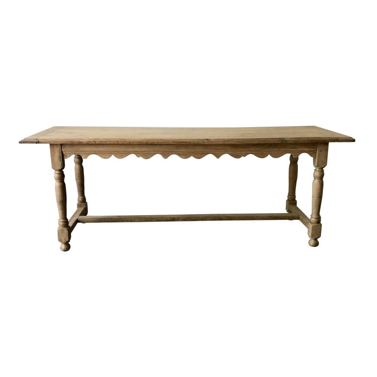 19th Century French Oak Table