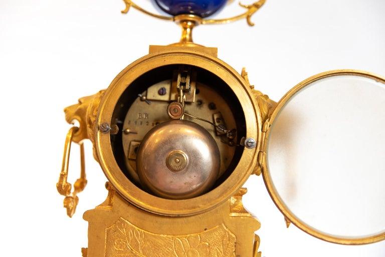19th Century French Ormolu Clock For Sale 1