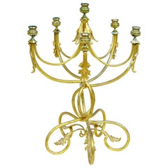 19th Century French Ormolu Six-Candle Candelabrum