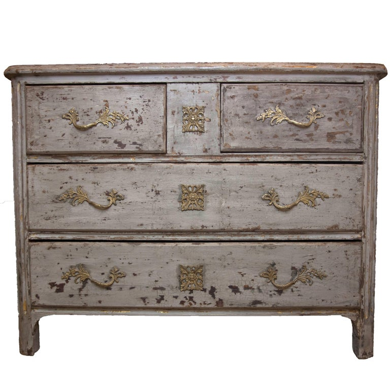19th Century French Painted Commode