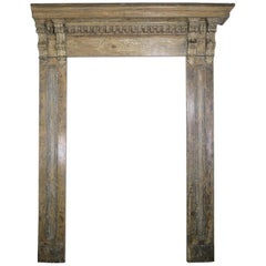 19th Century French Painted Door Surround
