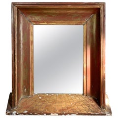 19th Century French Perspective Mirror