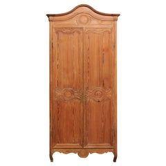 19th Century French Pine Armoire
