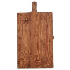 19th Century French Pine Cutting Board
