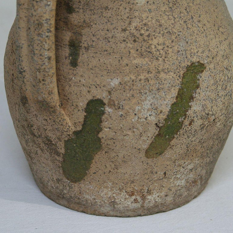 19th Century French Primitive Glazed Earthenware Pitchers For Sale 8
