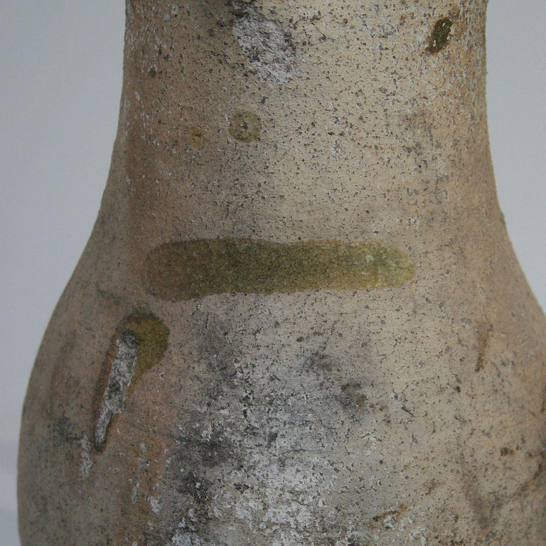 19th Century French Primitive Glazed Earthenware Pitchers For Sale 9