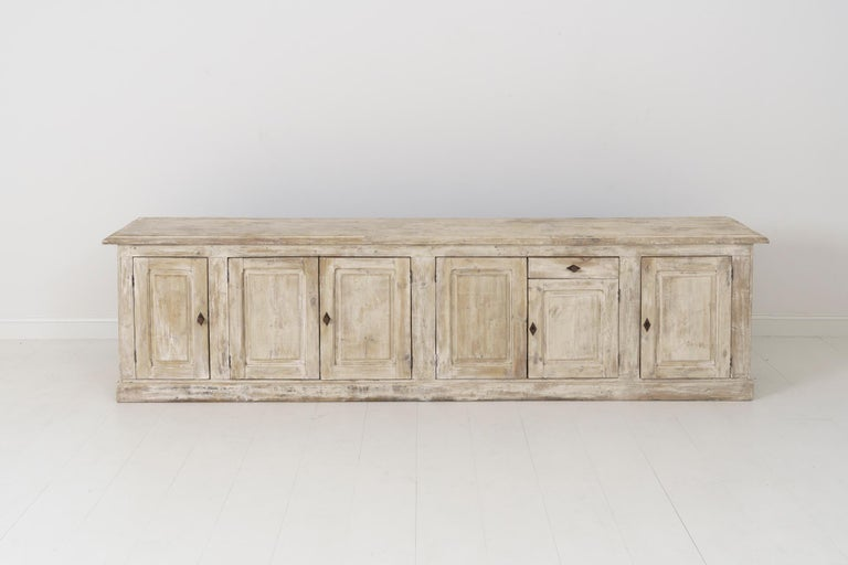 19th Century French Provençal Louis Philippe Style Enfilade in Original Patina For Sale 6