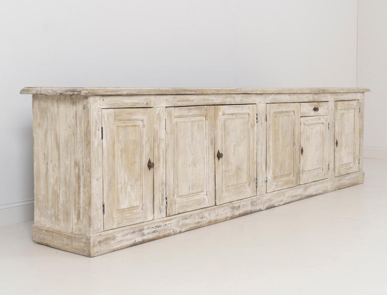 19th Century French Provençal Louis Philippe Style Enfilade in Original Patina For Sale 10