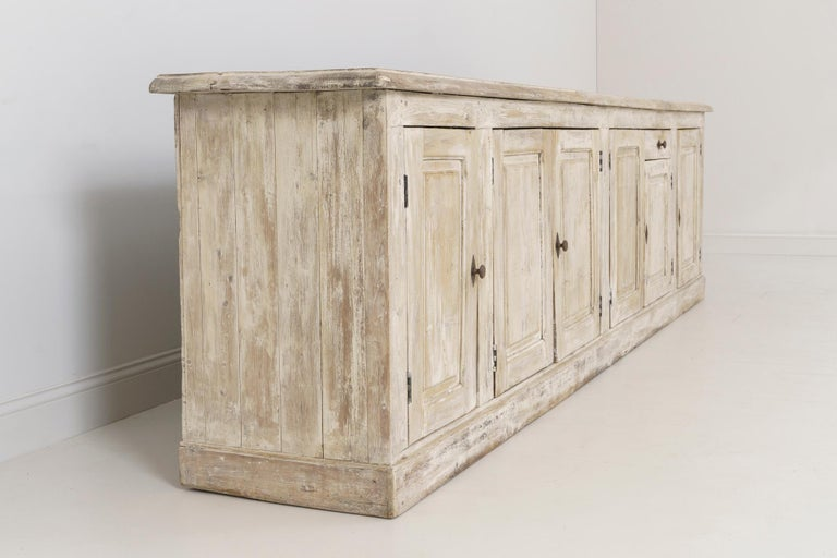 19th Century French Provençal Louis Philippe Style Enfilade in Original Patina For Sale 11