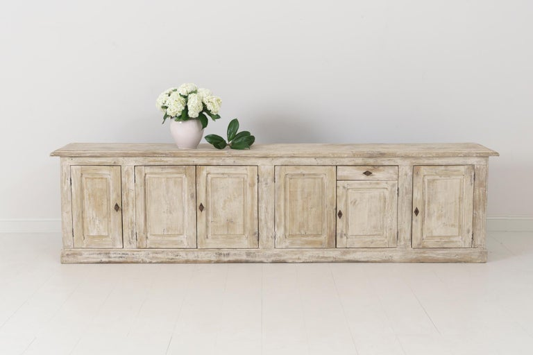 19th Century French Provençal Louis Philippe Style Enfilade in Original Patina For Sale 13