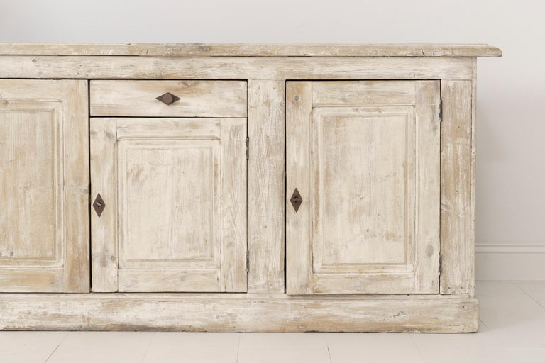 19th Century French Provençal Louis Philippe Style Enfilade in Original Patina In Excellent Condition For Sale In Wichita, KS