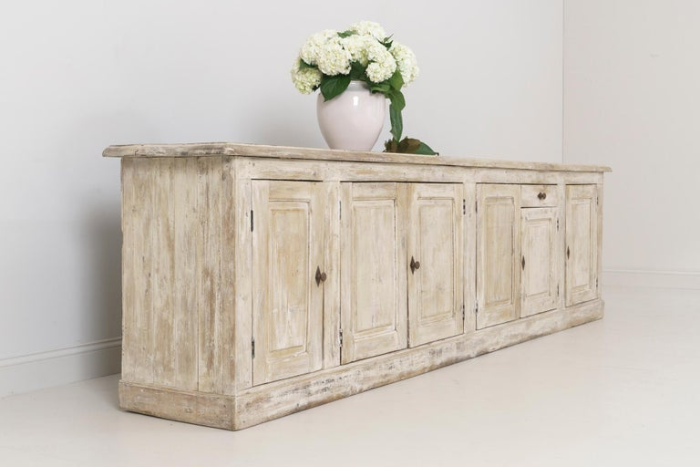 19th Century French Provençal Louis Philippe Style Enfilade in Original Patina For Sale 3