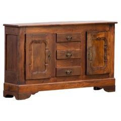 19th Century French Provencal Oak Buffet Cabinet