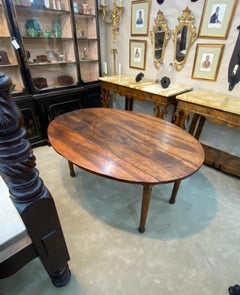 19th Century French Provincial Walnut Dining Table