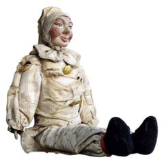 19th Century French Rare Museum Puppet Doll