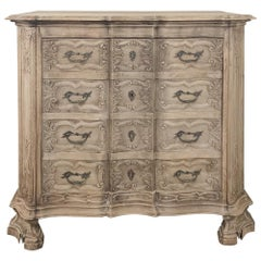 19th Century French Regence Buffet with Faux Drawer Façade