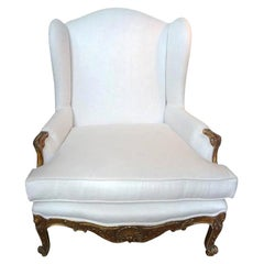 19th Century French Regence Giltwood Marquise