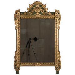 19th Century French Régence Style Parcel-Gilt Mirror