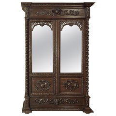 19th Century French Renaissance Armoire