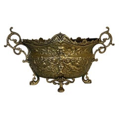 19th Century French Renaissance Cast Brass Jardinière