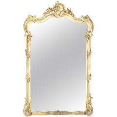 19th Century French Rococo Mirror