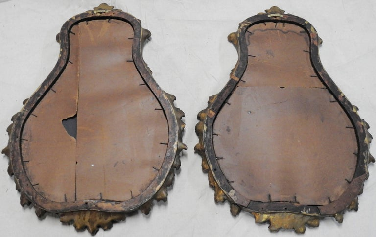 19th Century French Rococo Mirrors, Pair 3