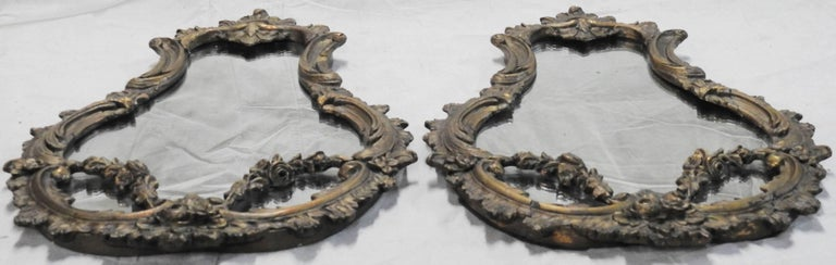 19th Century French Rococo Mirrors, Pair 4