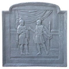 19th Century French 'Roman Scene' Fireback