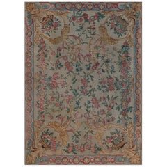 19th Century French Savonnerie Fragment Rug