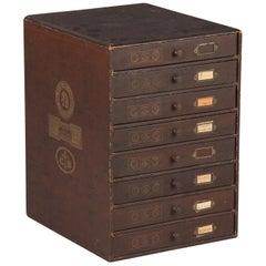 19th Century French Seamstress Storage Box