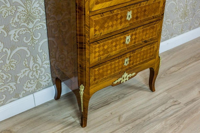 19th Century French Secretary Desk in the Louis XV Style 1
