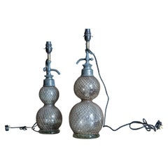19th Century French Seltzer Siphon Lamps
