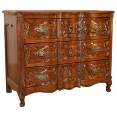 19th Century French Serpentine Chest