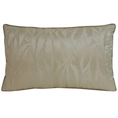 19th Century French Silk Deco Decorative Lumbar Pillow