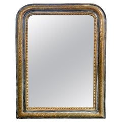 19th Century French Silver and Gold Louis Philippe Mirror