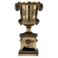 19th Century French Silver-Gilt Sugar Urn, Marc Jacquart, Paris, circa 1800
