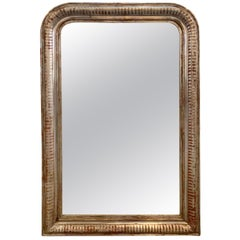 19th Century French Silver Louis Philippe Mirror