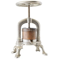 19th Century French Silverplate Duck Lobster Press