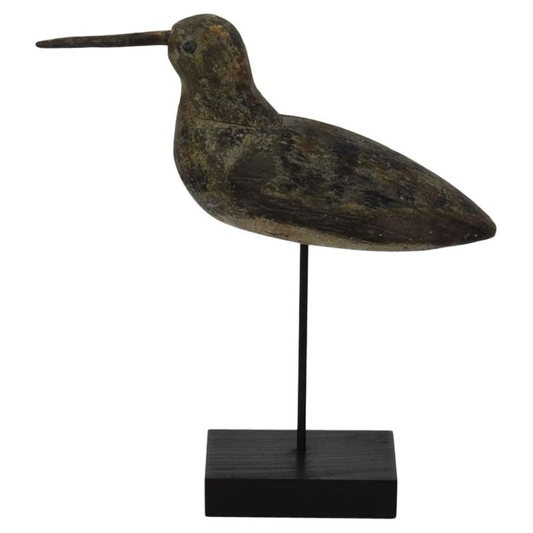 19th Century French Snipe Decoy For Sale