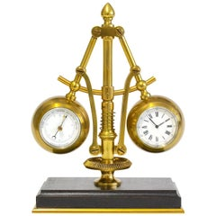 19th Century French Steam Clock