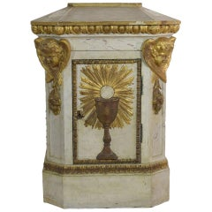 19th Century French Tabernacle with Angels