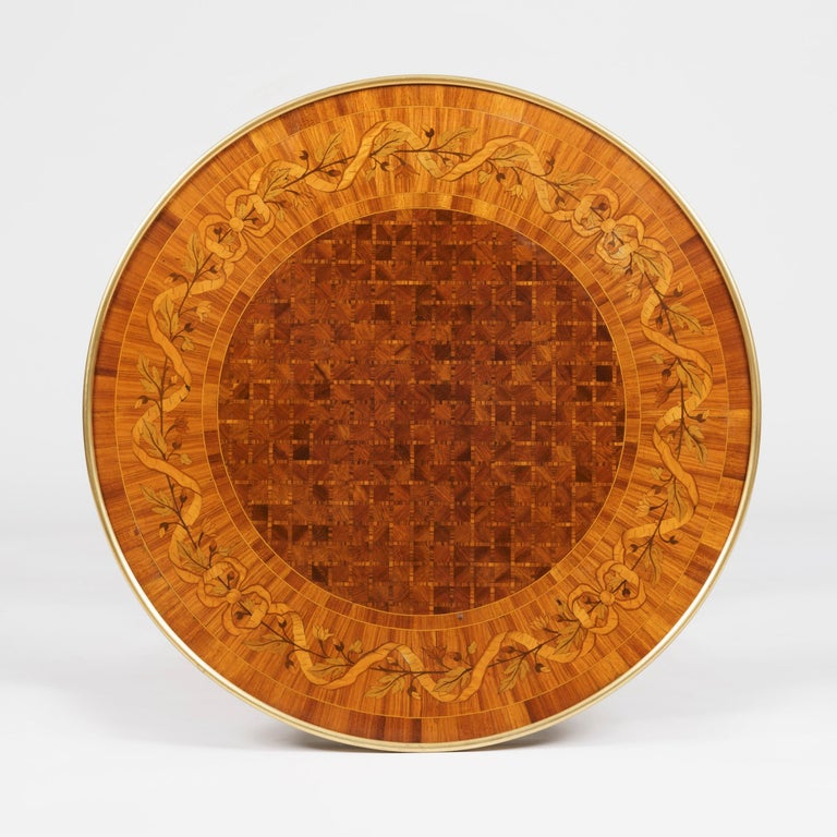 A fine Gueridon after Adam Weisweiler