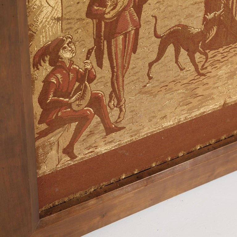 19th Century French Tapestries Depicting Life of French Nobility, Set of 4 For Sale 5