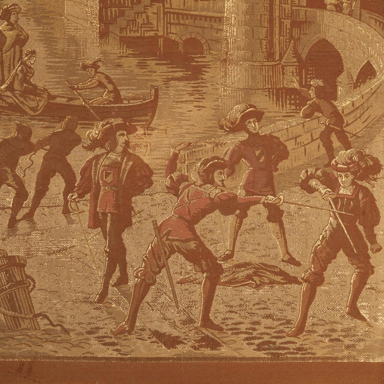 19th Century French Tapestries Depicting Life of French Nobility, Set of 4 For Sale 10